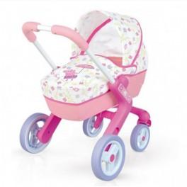 Dětský kočárek Smoby Prasátko Peppa pro panenky 251306