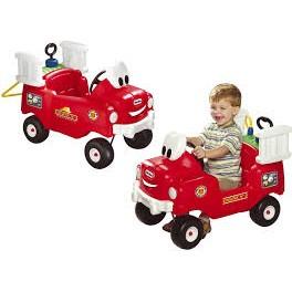 Little Tikes 616129 - Odrážedlo hasičský vůz